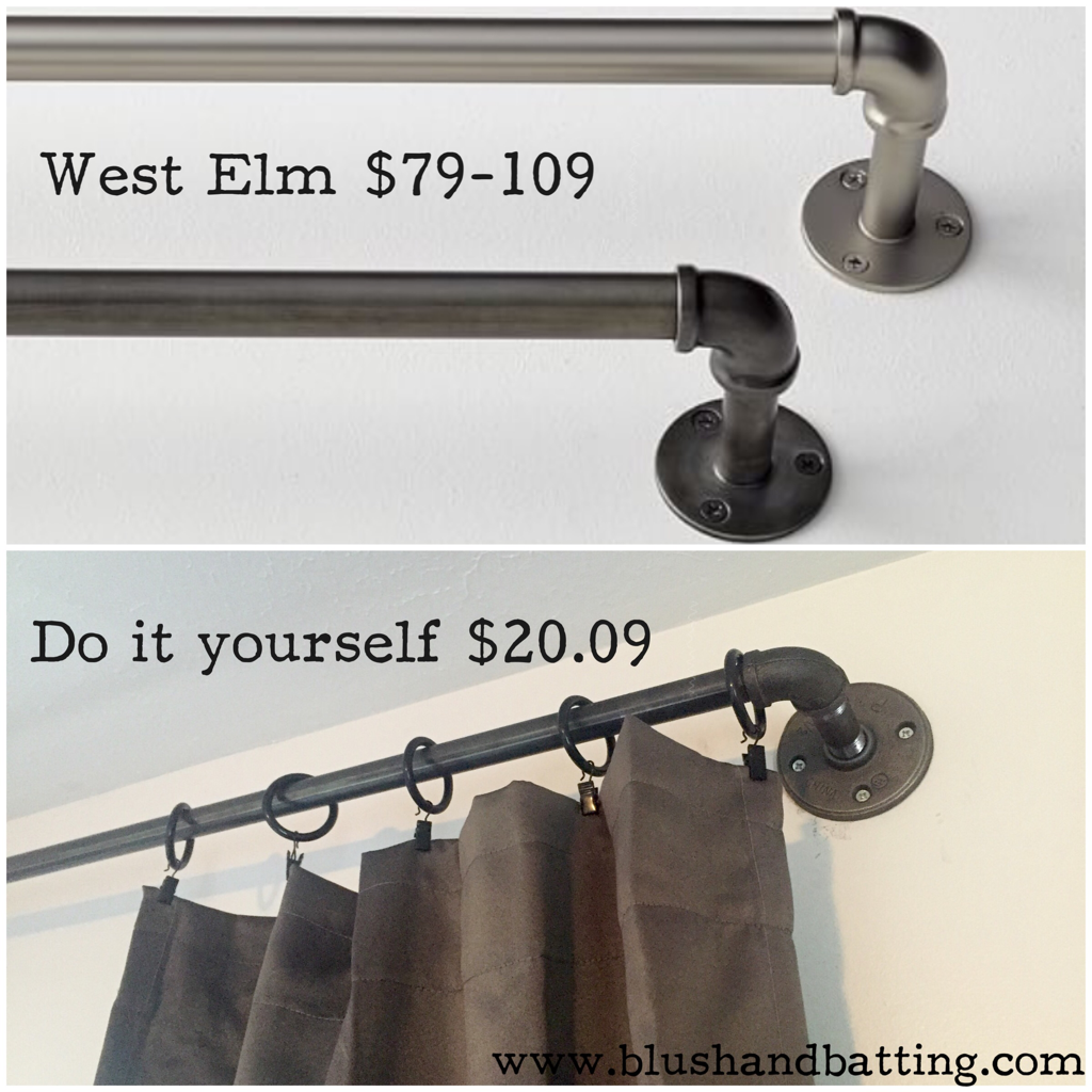 Curtain rods west elm