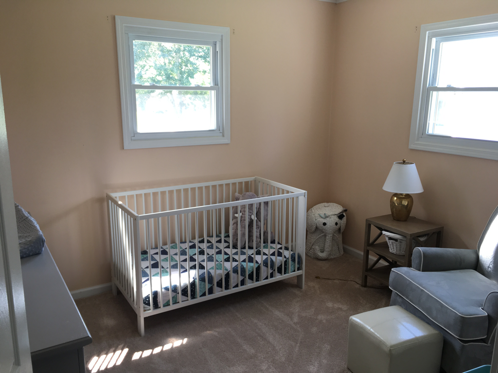 Little Boy Nursery with Wood Plank Wall | Blush and Batting Blog